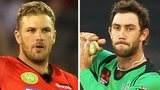 Aaron Finch and Glenn Maxwell
