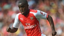 Arsenal forward Joel Campbell