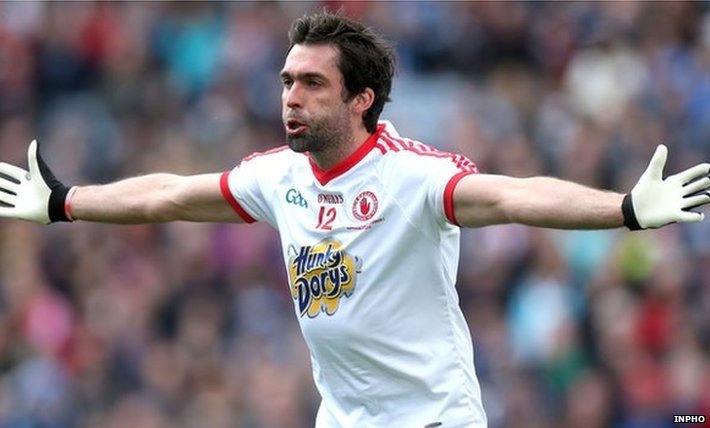 Tyrone's Joe McMahon