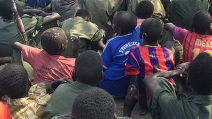Child soldiers in South Sudan - Tuesday 27 January 2015