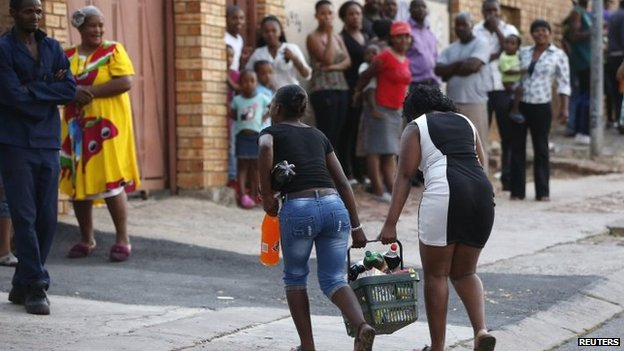Zimbabweans Hit Back At South Africa Burning Out South: Letter From Africa: Soweto Still Burning