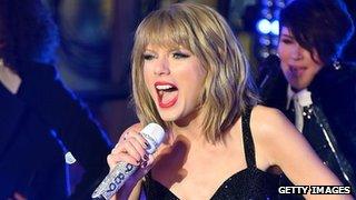 BBC - Newsbeat - Did Taylor Swift just get hacked by Lizard Squad?