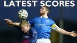 Irish League latest scores