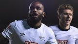 Derby striker Darren Bent