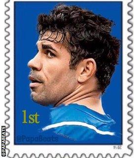 @papabeats Diego Costa stamp