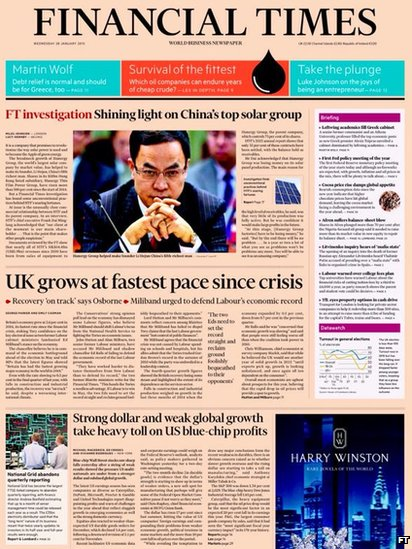 Tomorrow's FT