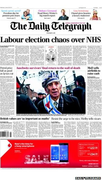 Tomorrow's Telegraph