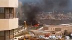 Explosion at the Corinthia Hotel, Tripoli, Libya, 27 January 2015