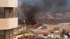 Explosion at the Corinthia Hotel, Tripoli, Libya, 27 January 2015