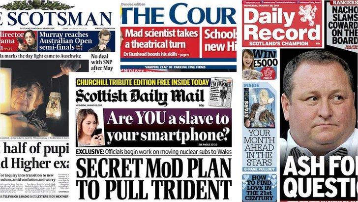 Scotland's newspapers