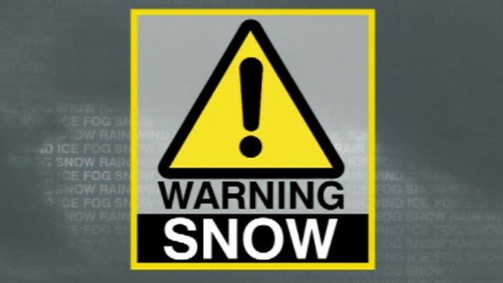 Snow warning logo