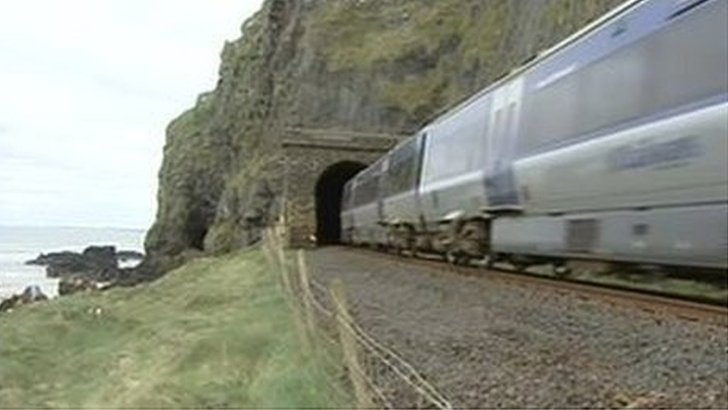 Derry-Belfast rail line