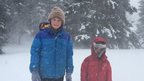 The kids hit by US blizzards
