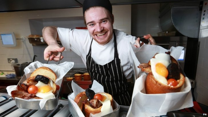 Chef Finn Baire Bat BunnyChow in Wardour Street