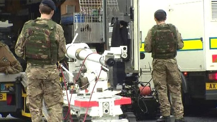 Bomb disposal officers