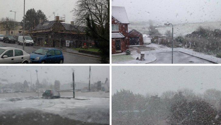 Snow Wednesday 28 January