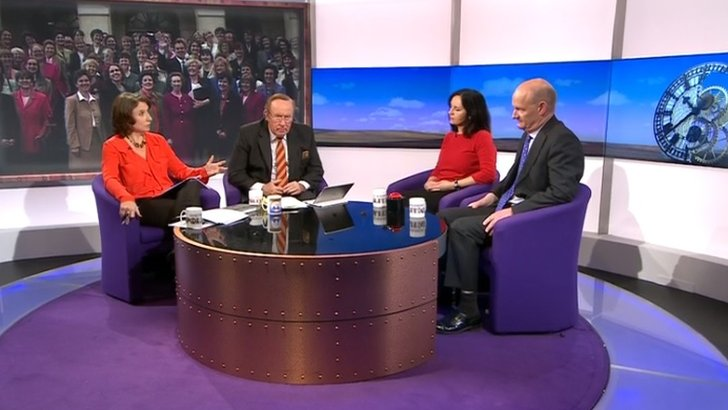 Daily Politics on women in politics