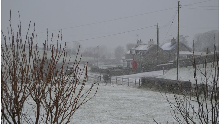 Picture of snowy Katesbridge