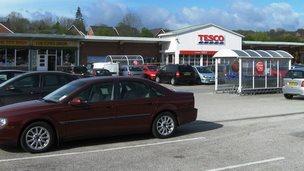Tesco off Dodds Lane, Wrexham