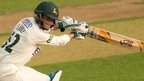 Notts batsman Libby injures knee