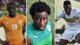 Yaya Toure, Wilfried Bony, Bakary Sako