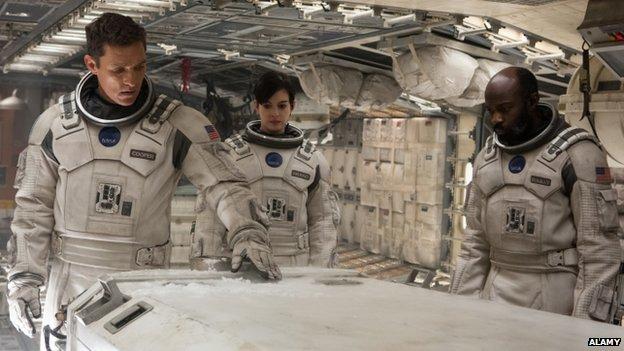 Publicity shot for Interstellar