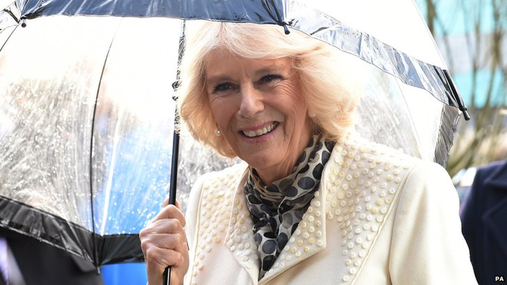 Duchess of Cornwall in Newcastle
