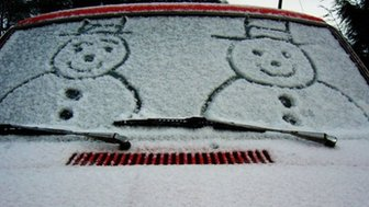 Snowmen by Abbie in Bo'ness