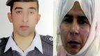 Captured Jordanian pilot Moaz al-Kasasbeh (left) and convicted Iraqi al-Qaeda militant Sajida al-Rishawi (composite image)