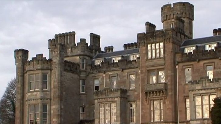The B-listed Baronial Mansion House forms part of the Castle Toward estate