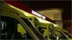 Emergency unit at Cardiff's University Hospital of Wales