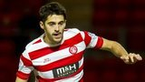 Hamilton full-back Stephen Hendrie