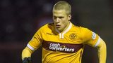 Henrik Ojamaa in action for Motherwell