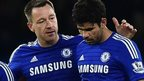 John Terry & Diego Costa