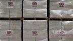 UK aid boxes