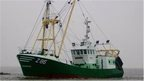 The vessel believed to be missing off Dungeness