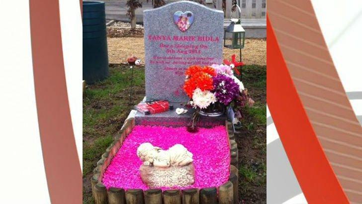 Tanya Beadle's grave