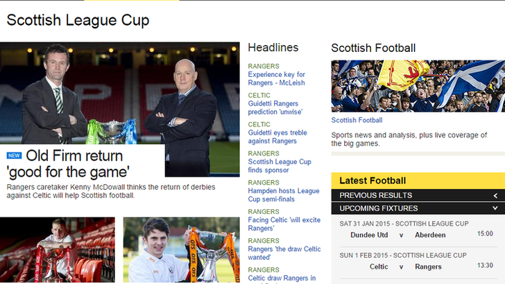 BBC Sport screengrab