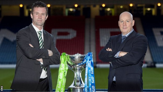 Ronny Deila and Kenny McDowall