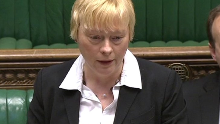 Angela Eagle in the Commons