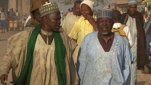 Residents of Jos in Nigeria