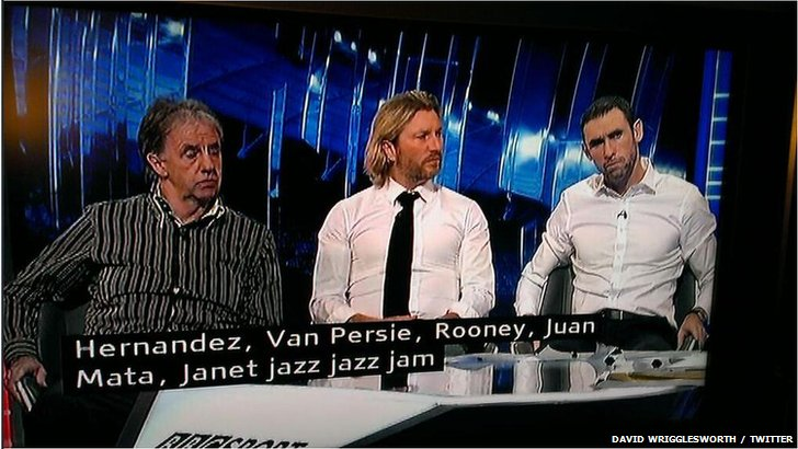 Match of the Day subtitles