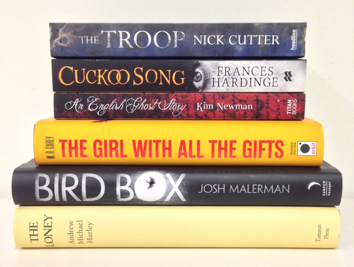 James Herbert Award - shortlisted novels