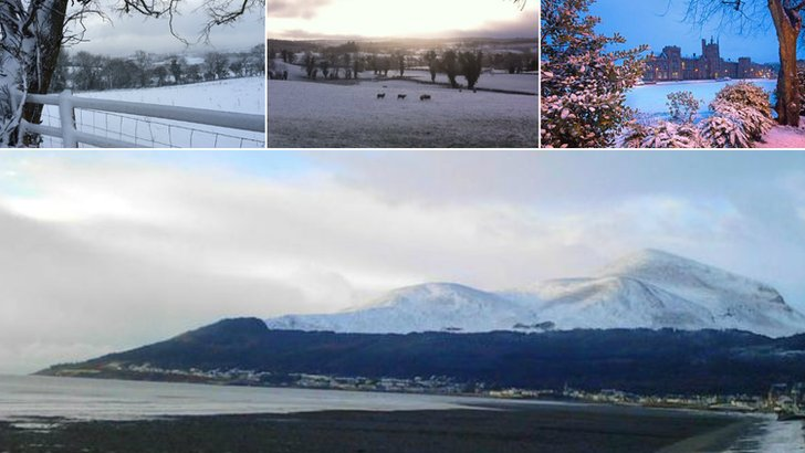 Snow 29 Jan 2015