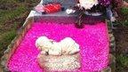 Tanya's grave