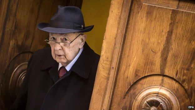Giorgio Napolitano (15 Jan)