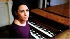 Suzy Klein at the piano