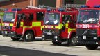 Suffolk fire engines