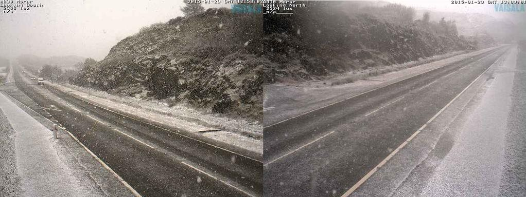 Road cameras of A830 at Morar (South of Mallaig)
