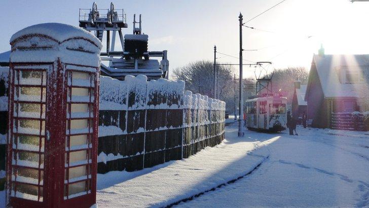 Tramline in Coatbridge